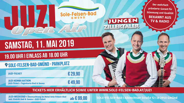 JUZI Open Air OnlineSujet