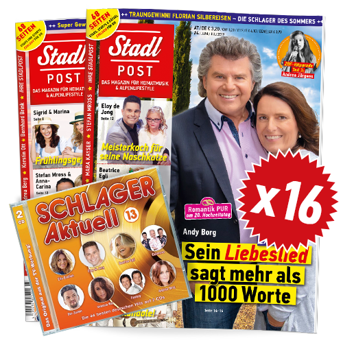 Cover 4 19 16x Schlager Aktuell 13