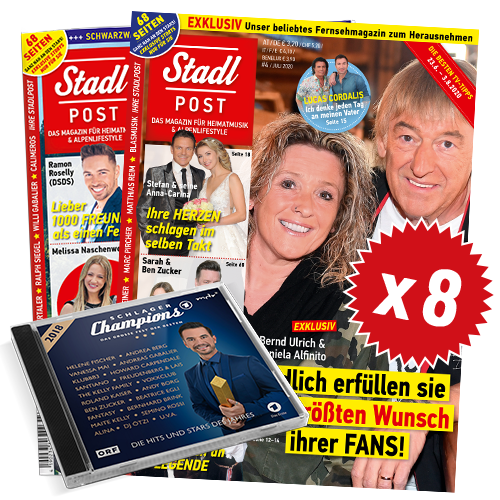 Cover 4 2020 8x Schlagerchamps 2018