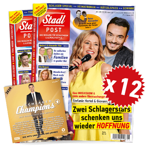 Cover 1 2021 12x Mit Schlagerchamps 2020