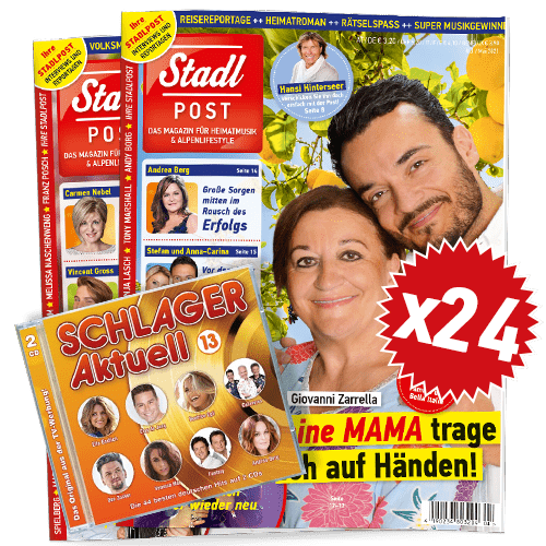 Cover 4 2021 Mit Schlager Aktuell 13 Cd