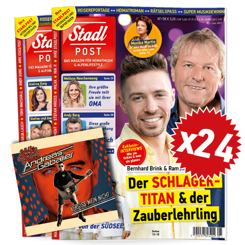Cover 5 2021 Mit Andreas Gabalier Cd