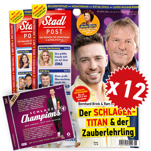 Cover 5 2021 Mit Schlagerchamps 2021