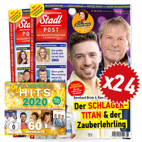 Cover 5 2021 Mit Volksmusikhits 2020