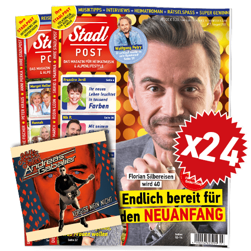 Cover 7 2021 Mit Andreas Gabalier Cd