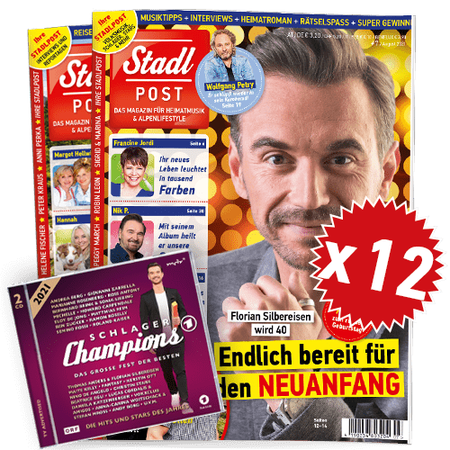 Cover 7 2021 Mit Schlagerchamps 2021