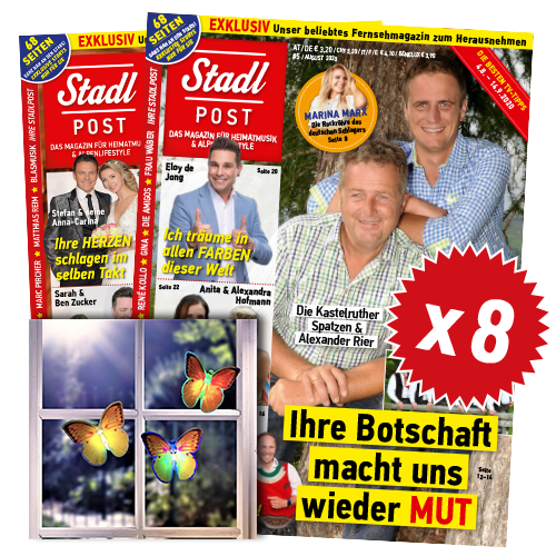 Cover 5 2020 Mit Led Schmetterlinge