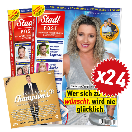 Cover 9 2020 Mit Schlagerchamps 2020